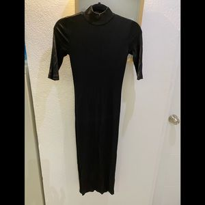 H&M Bodicon Black dress !